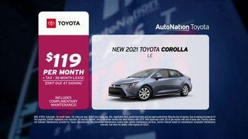 AutoNation Fast Start Sales Event TV Spot, '2021 Corolla for $119' Ft. Alexander Rossi - Thumbnail 3