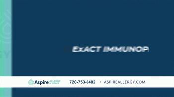 Aspire Allergy & Sinus TV Spot, 'Ups and Downs of Allergies' - Thumbnail 6