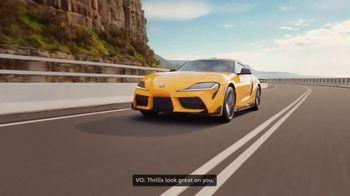 Toyota GR Supra TV Spot, 'Exhilarating Cars' [T1] - Thumbnail 5