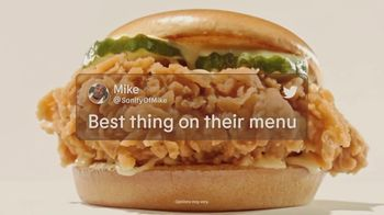 Burger King Ch'King TV Spot, 'Ignore the Reviews: Get a Free Whopper'