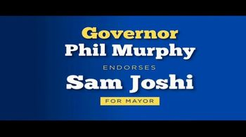 Sam Joshi for Mayor TV Spot, 'Endorsed by Governor Phil Murphy'