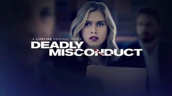 Lifetime Movie Club TV Spot, 'Deadly Misconduct'