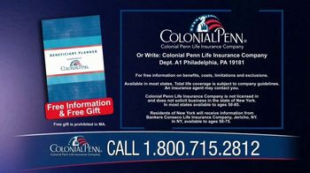 Colonial Penn 995 Plan TV Spot, 'Change and Uncertainty' - Thumbnail 10