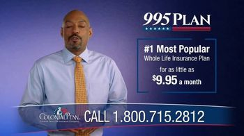 Colonial Penn 995 Plan TV Spot, 'Change and Uncertainty' - Thumbnail 4