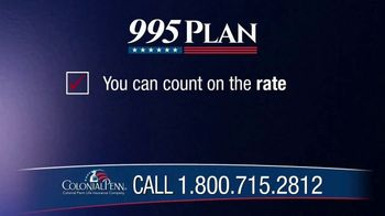 Colonial Penn 995 Plan TV Spot, 'Change and Uncertainty' - Thumbnail 8