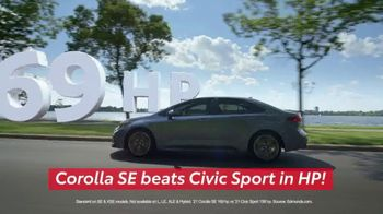 Toyota Run the Numbers Summer Getaway TV Spot, 'Competition: Sedans' [T2] - Thumbnail 2