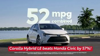Toyota Run the Numbers Summer Getaway TV Spot, 'Competition: Sedans' [T2] - Thumbnail 3