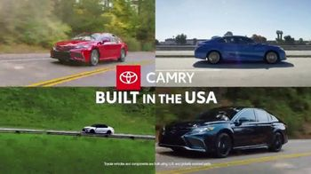 Toyota Run the Numbers Summer Getaway TV Spot, 'Competition: Sedans' [T2] - Thumbnail 4