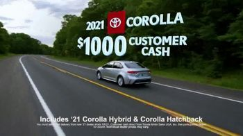 Toyota Run the Numbers Summer Getaway TV Spot, 'Competition: Sedans' [T2] - Thumbnail 8