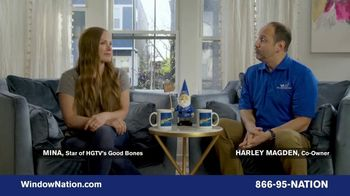 Window Nation TV Spot, 'Talking Windows: What Matters to Mina Starsiak Hawk'