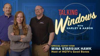 Window Nation TV Spot, 'Talking Windows: What Matters to Mina Starsiak Hawk' - Thumbnail 2