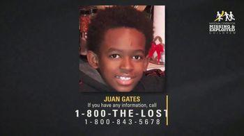 National Center for Missing & Exploited Children TV Spot, 'Juan Gates' - Thumbnail 4