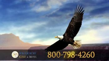 Patriot Gold Group TV Spot, 'What Happens When America Addresses Its Pending Inflation Issue'