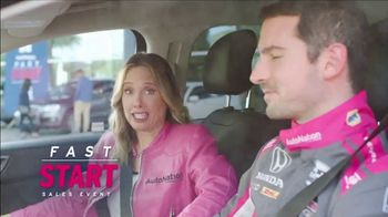 AutoNation Fast Start Sales Event TV Spot, 'Great Selection of Ford Vehicles' Featuring Alexander Rossi