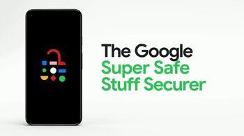 Google Pixel 5 TV Spot, 'Security Battery: Super G: $499' - Thumbnail 4