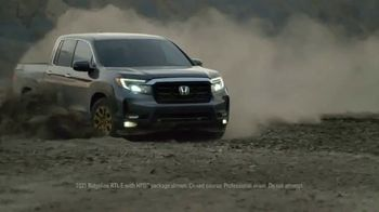 2021 Honda Ridgeline TV Spot, 'Rise to the Challenge: Redesigned Ridgeline' Song by Vampire Weekend [T1]
