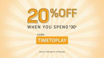 GolfNow.com TV Spot, 'Spring Into Savings: 20% Off'