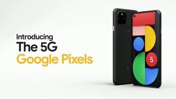 Google Pixel 5 TV Spot, 'Security Battery: Verizon: $599'