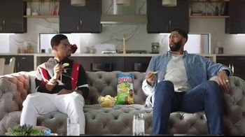 Ruffles Lime & Jalapeño TV Spot, 'Without Ridges: Coach' Featuring Anthony Davis, King Bach
