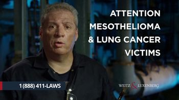 Weitz & Luxenberg P.C. TV Spot, 'Mesothelioma: The Choice Is Clear'