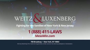 Weitz & Luxenberg P.C. TV Spot, 'Mesothelioma: The Choice Is Clear' - Thumbnail 9