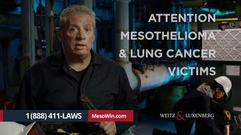 Weitz & Luxenberg P.C. TV Spot, 'Mesothelioma: The Choice Is Clear' - Thumbnail 2