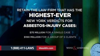 Weitz & Luxenberg P.C. TV Spot, 'Mesothelioma: The Choice Is Clear' - Thumbnail 5