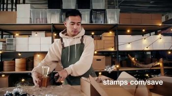 Stamps.com TV Spot, 'A Lot Less: Trial, Postage and Scale'