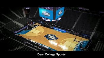 NCAA TV Spot, 'Dear College Sports' - Thumbnail 1