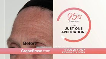 Crepe Erase TV Spot, 'Younger Looking Skin: $39.95: Four Bonus Offers' Featuring Jane Seymour, Courtney Thorne-Smith - Thumbnail 7