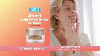 Crepe Erase TV Spot, 'Younger Looking Skin: $39.95: Four Bonus Offers' Featuring Jane Seymour, Courtney Thorne-Smith - Thumbnail 8