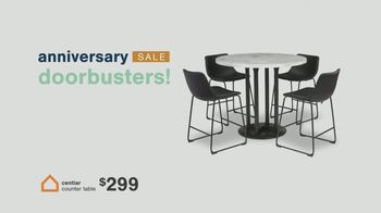 Ashley HomeStore Anniversary Sale TV Spot, 'Save 25%, Doorbusters and Financing' - Thumbnail 3