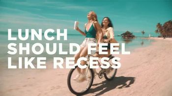 Tropical Smoothie Cafe TV Spot, 'Lunch Should Feel Like Recess'