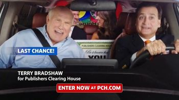 Publishers Clearing House TV Spot, 'Last Chance: $7,000 for Life' Featuring Terry Bradshaw