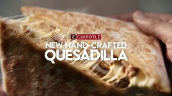 Chipotle Mexican Grill Quesadilla TV Spot, 'A Whole New Way: $0 Delivery Fee' - Thumbnail 2