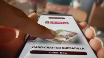 Chipotle Mexican Grill Quesadilla TV Spot, 'A Whole New Way: $0 Delivery Fee' - Thumbnail 7