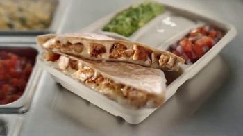 Chipotle Mexican Grill Quesadilla TV Spot, 'A Whole New Way: $0 Delivery Fee'