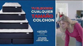 Rooms to Go Venta de Memorial Day TV Spot, 'Colchón Therapedic' [Spanish] - Thumbnail 3