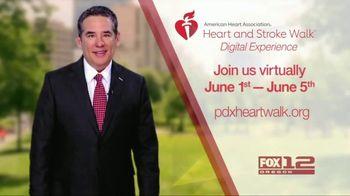 American Heart Association TV Spot, '2021 Portland: Heart and Stroke Walk Digital Experience' - Thumbnail 1