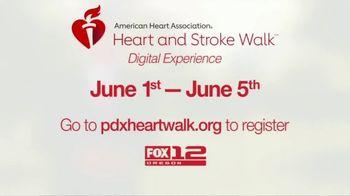 American Heart Association TV Spot, '2021 Portland: Heart and Stroke Walk Digital Experience' - Thumbnail 10
