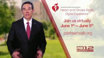 American Heart Association TV Spot, '2021 Portland: Heart and Stroke Walk Digital Experience' - Thumbnail 2