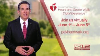 American Heart Association TV Spot, '2021 Portland: Heart and Stroke Walk Digital Experience' - Thumbnail 3