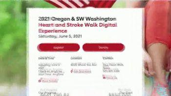 American Heart Association TV Spot, '2021 Portland: Heart and Stroke Walk Digital Experience' - Thumbnail 7
