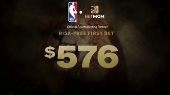 BetMGM One Game Parlay TV Spot, 'One Game, Bigger Payouts: $600 Risk-Free First Bet' - Thumbnail 7