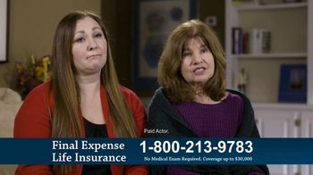 Final Expense Life Insurance TV Spot, 'What If Something Were to Happen?'