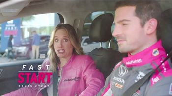 AutoNation Fast Start Sales Event TV Spot, '2021 Hyundai Elantra SE' Featuring Alexander Rossi
