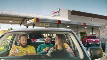 Sonic Drive-In Popcorn Chicken Po'boy TV Spot, 'Edgy' - Thumbnail 1