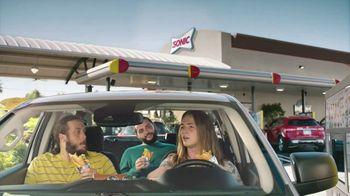 Sonic Drive-In Popcorn Chicken Po'Boy TV Spot, 'Compliment' - Thumbnail 2