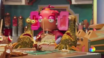 Discovery+ TV Spot, 'Streaming Now: Food' - Thumbnail 3