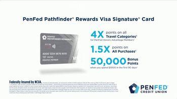 PenFed Pathfinder Rewards Visa Signature Card TV Spot, 'Romantic Weekend' - Thumbnail 9